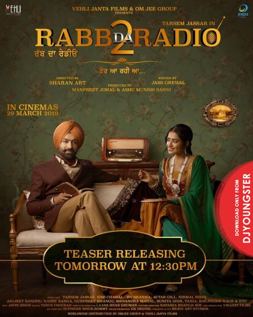 Rabb Da Radio 2 (Album) Tarsem Jassar Full Album Mp3