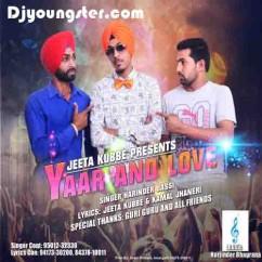 Yaar And Love-Harinder Jassi song download by Harinder Jassi