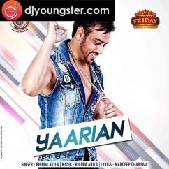 Yaarian song download by Bhinda Aujla