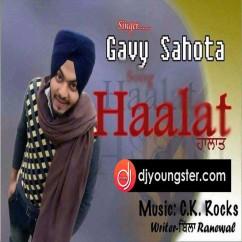 Halaat song download by Gavy Sahota