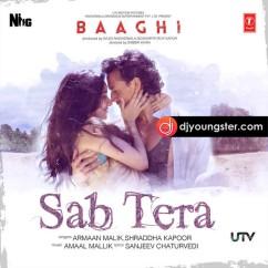 Sab Tera(Baaghi) song download by Armaal Malik
