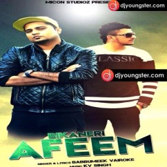 Bikaneri Afeem song download by Babbu Meek Vairoke