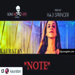 Note song download by Haji Springer