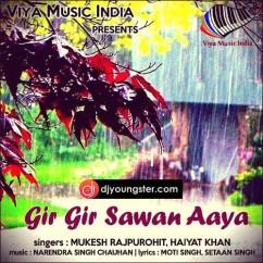 Gir Gir Sawan Aya song download by Mukesh Rajpurohit