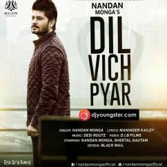 Dil Vich Pyar song download by Nandan Monga