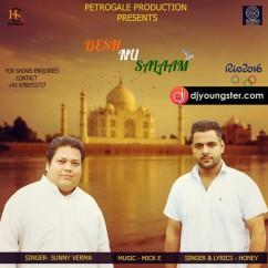 Desh Nu Salaam song download by Honey