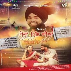Maujan Pind Diyan song download by Nik J