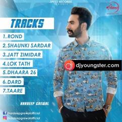 Shaunki Sardar song download by Hardeep Grewal