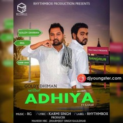 Adhiya song download by Goldy Dhiman