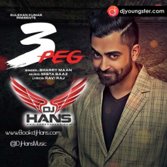 3 Peg Dj Hans song download by Sharry Maan
