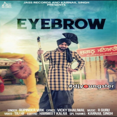Eyebrow song download by Rupinder Virk
