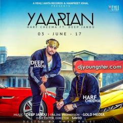 Yaarian song download by Harf Cheema