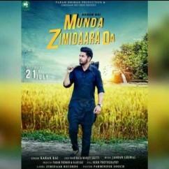 Munda Zimidaara Da song download by Karan Rai