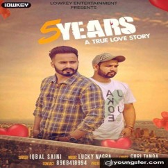 5 Years song download by Iqbal Saini