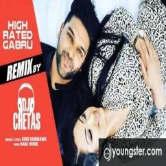 High Rated Gabru Remix song download by Guru Randhawa