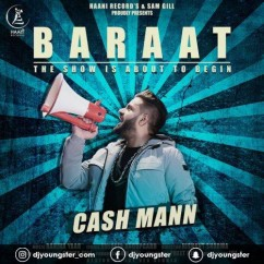 Baraat song download by Cash Mann