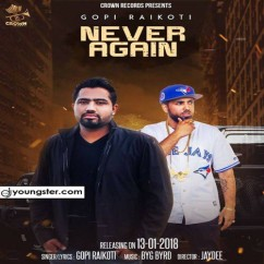 Never Again song download by Gopi Raikoti