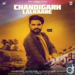 Chandigarh Lalkaare song download by Gavy Maan