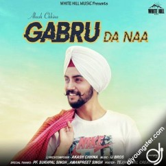Gabru Da Naa song download by Akash Chhina