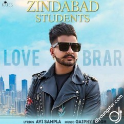 Zindabad Students song download by Love Brar