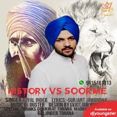 History Vs Soorme song download by Royal Inder