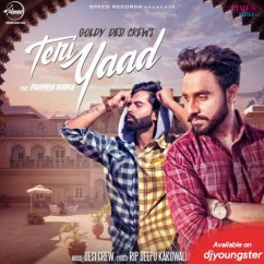Teri Yaad song download by Goldy Desi Crew