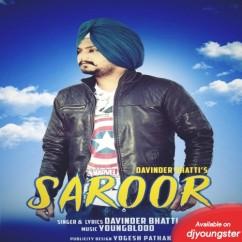 Saroor song download by Davinder Bhatti