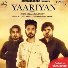 Yaariyan song download by Jonty