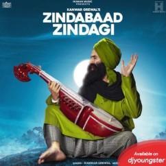 Zindabaad Zindagi song download by Kanwar Grewal