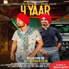 4 Yaar song download by Gurjeevan Aujla