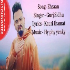 Ehsaan song download by Gurj Sidhu