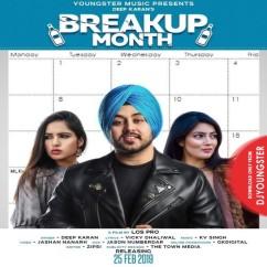 Breakup Month song download by Deep Karan