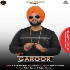 Torhide Garoor song download by Harrie Parmar