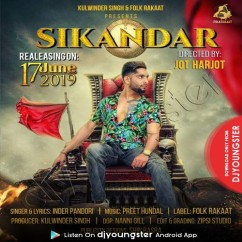 Sikander song download by Inder Pandori