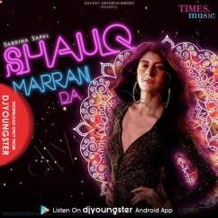 Shauq Marran Da song download by Sabrina Sapal