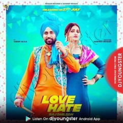 Love Hate song download by Raj Dhillon