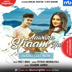 Aawara Shaam Hai song download by Meet Bros