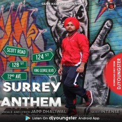 Surrey Anthem song download by Japp Dhaliwal