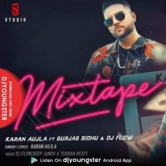 Hit Rap Mixtape song download by Karan Aujla