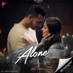 Alone song download by Harvy Sandhu