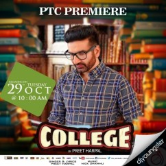 College song download by Preet Harpal