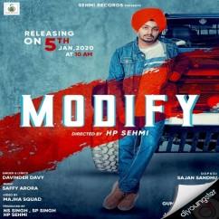 Modify song download by Davinder Davy