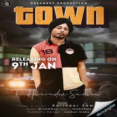 Town song download by Harinder Samra