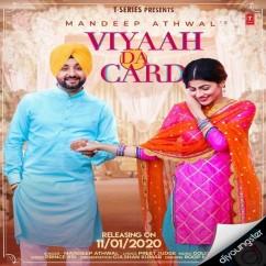 Viyaah Da Card song download by Mandeep Athwal
