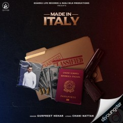 Made in Italy song download by Chani Nattan