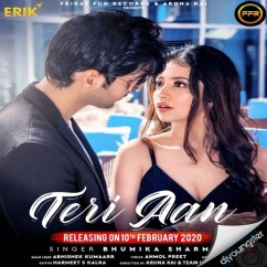 Teri Aan song download by Bhumika Sharma