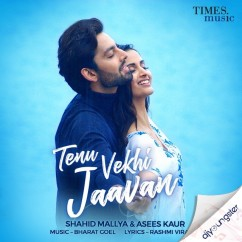 Tenu Vekhi Jaavan ft Asees Kaur song download by Shahid Mallya