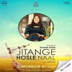 Jitange Hosle Naal song download by Afsana Khan