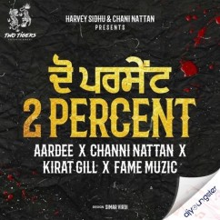 2 Percent song download by Aardee