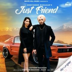 Just Friend song download by Deepinder Madahar